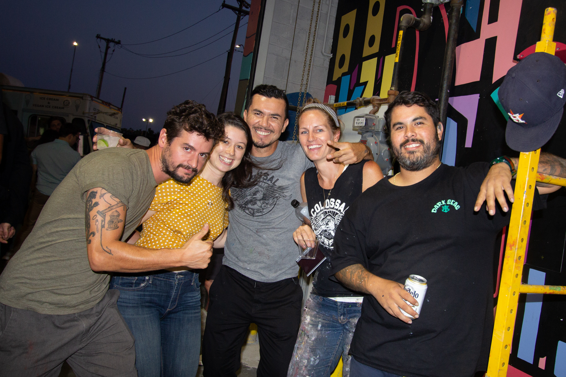 Photos from the Colossal Client BBQ at our shop in East Williamsburg