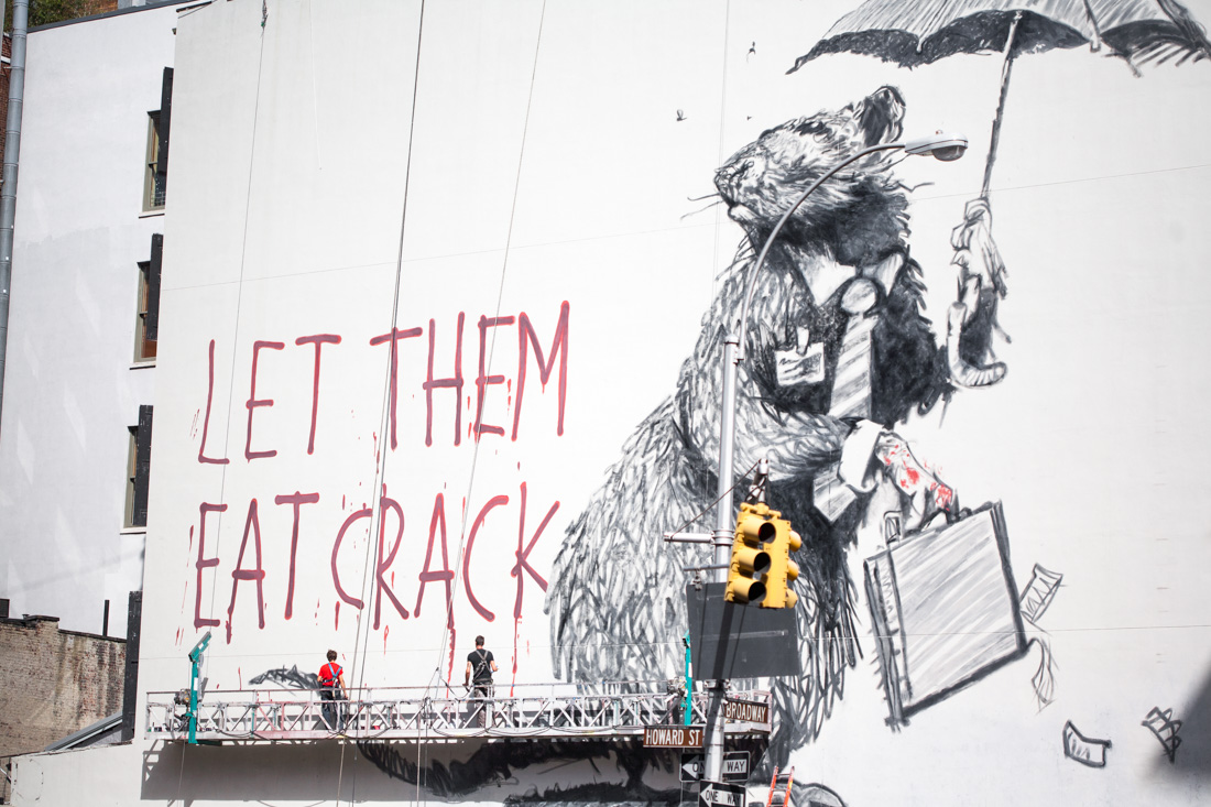 Let Them Eat Crack by Banksy
